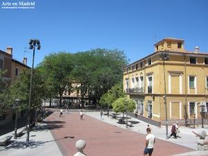 plaza de Manuel Malasaña