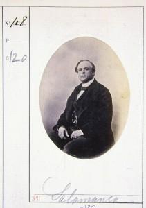 Retrato del Marqués de Salamanca (anterior a 1863) Tarjeta de visita 9x6 cm. (memoriademadrid)